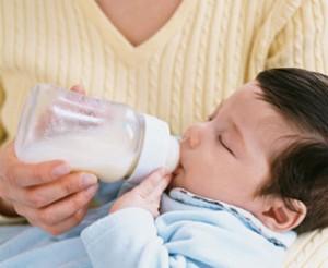 Hazır süt ile beslenme